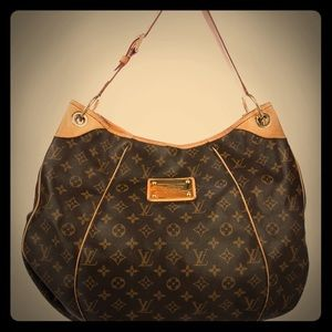 LIMITED EDITION Louis Vuitton Galleria GM Hobo Bag